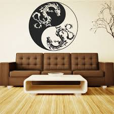 100 dragon wall stickers online get cheap chinese dragon dragon wall stickers wallstickers folies yin yang wall stickers