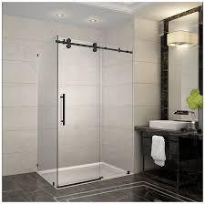 48 Inch Glass Shower Door Aston Langham 44 48 In X 33 8125 In X 75 In