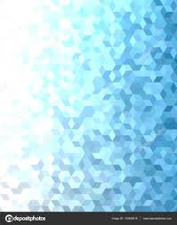 blue 3d cube mosaic pattern background design u2014 stock vector