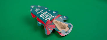 christmas tree seed bespoke packaging printing seedcell