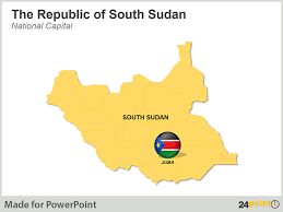 use editable south sudan maps for ppt presentations on the world u0027s