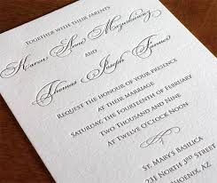 formal wedding invitation wording formal wedding invitations affordable letterpress wedding