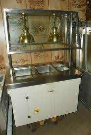 serving line steam tables used used 11 5 electric serving line pete s restaurant equipment