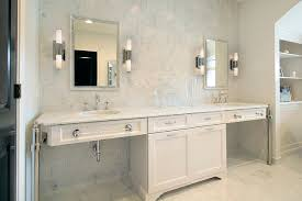 Beveled Mirrors For Bathroom White Vanity Design Ideas