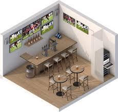 Sports Bar Floor Plan by Sports Bar