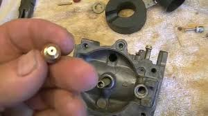 60 hp johnson vro evinrude carburator rebuild youtube