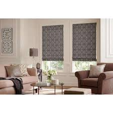Burnt Orange Roman Shades