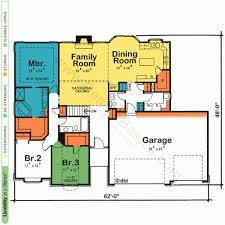 designs one story house plans with open floor plans design basics