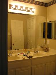 Bathroom Cabinet With Lights Amusing Modern Apartment Bathroom Decoration Show Appealing White
