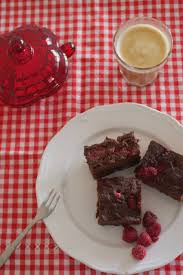 donna hay raspberry chocolate brownies the hungry mum