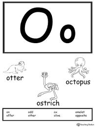 printable alphabet letter cards letter o printable alphabet flash cards for preschoolers