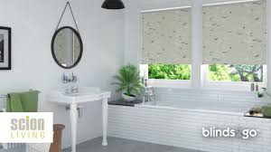 Waterproof Blinds Scion Living Waterproof Roller Blinds By Blinds 2go Youtube