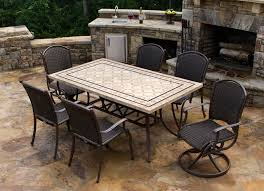 stone patio table top replacement patio stunning design costco stone top table intended for new home