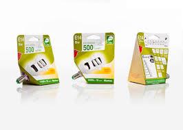 auchan light bulb packaging by quentin nutten at coroflot com