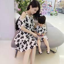 dress anak dress bunga ibu dan anak bayi anak baju anak perempuan