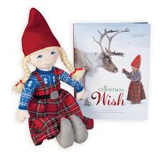 the christmas wish book the christmas wish book and doll a beautifully told tale of a