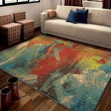 orian rugs bright opulence abstract multi colored area rug