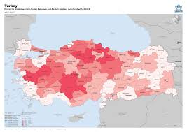 Where Is Syria On The Map by Syria Regional Refugee Response Turkey