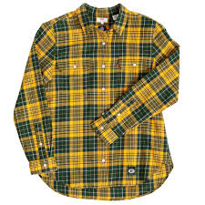 design gridiron jersey green bay packers women s levi s gridiron plaid shirt at the packers