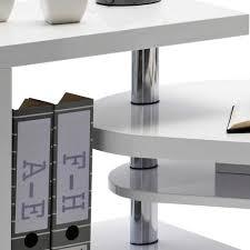 Schreibtisch Hochglanz Schreibtisch Mia In Weiß Hochglanz Mit Regalteil Wohnen De