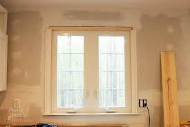 Interior Window Trims How To Install Trim And Casing Moulding On A Casement Window