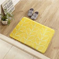 Yellow Kitchen Floor Mats by Welcome Floor Mats Creative Princess Printed Home Decor Bathroom
