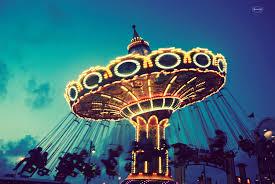 Fine Art Lighting Fixtures by Fine Art Photography Retro Fair Ride Carnival Vintage Lights