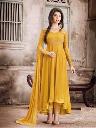 dress design faux georgette self design semi stitched salwar suit dupatta