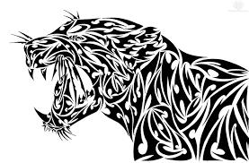 amazing roaring tribal jaguar design jpg 1600 1054