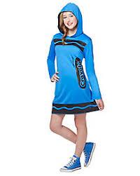 Tween Girls Mario Costume Crayola Costumes Crayon Halloween Costumes Spirithalloween Com