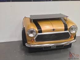 custom mini cooper desk classic car its furniture made from a car