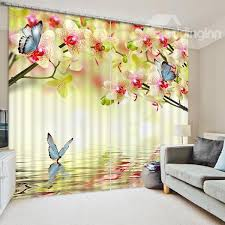 Blue Butterfly Curtains 185 Best 3d Curtains Images On Pinterest Blackout Curtains Home