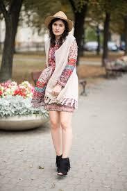straw hat boho dress u0026 fringes boho style glamourina