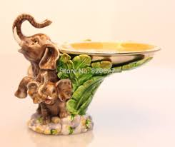 vintage home decor elephant figurine collectible statue office