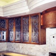 etched glass kitchen cabinet doors etched glass cabinet houzz