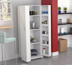 kitchen pantry shelving kitchen pantry storage cabinet white 4 door u0026 shelves wood