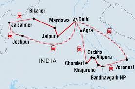 Varanasi India Map by India Tours U0026 Travel Intrepid Travel Ca