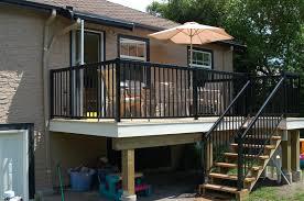 vinyl outdoor stair railing tall vinyl outdoor stair railing