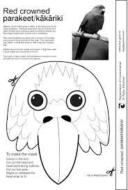bird mask bird mask template printable bird mask