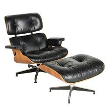 Eames Leather Chair Charles And Ray Eames Leather Chair And Ottoman For Herman Miller