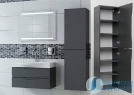 Modern Bathroom Cabinetry Endearing Bathroom Gorgeous Modern Wall Cabinets Brilliant Of