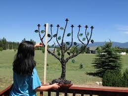 large menorah buy a custom made menorah large 9 branch tree of original