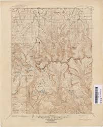 Lake Alan Henry Map Utah Historical Topographic Maps Perry Castañeda Map Collection