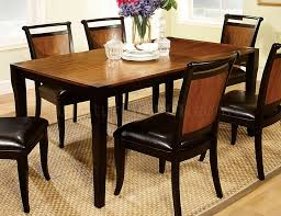 salida i dining table in two tone w optional chairs