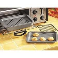 Broiler Pan For Toaster Oven Toaster Oven Pizza Pan Crisping Pan And Broiling U0026 Baking Pan