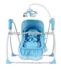Baby Electric Swing Bed Europe Baby Cot Bed Swing Bed With Canopy