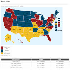 Map Api Gasoline Tax Now At 28 In Many Us Markets Some Top 35 Bestride