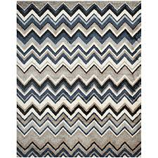 Blue Area Rugs 8 X 10 Safavieh Tahoe Collection Tah477d Grey And Light Blue Area Rug 8
