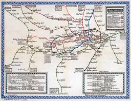London Metro Map by Map Graphical Approach London The Underground Railway