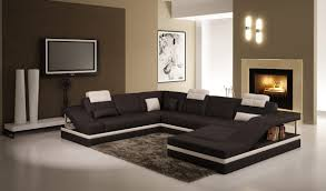 Sectional Sofa Bed With Storage Contemporary Black And White Leather Sectional Sofa W Side Storage
